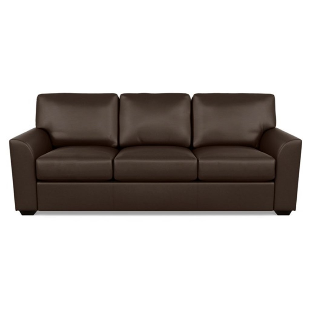Kaden Leather Three Seat Sofa by American Leather Capri Branch