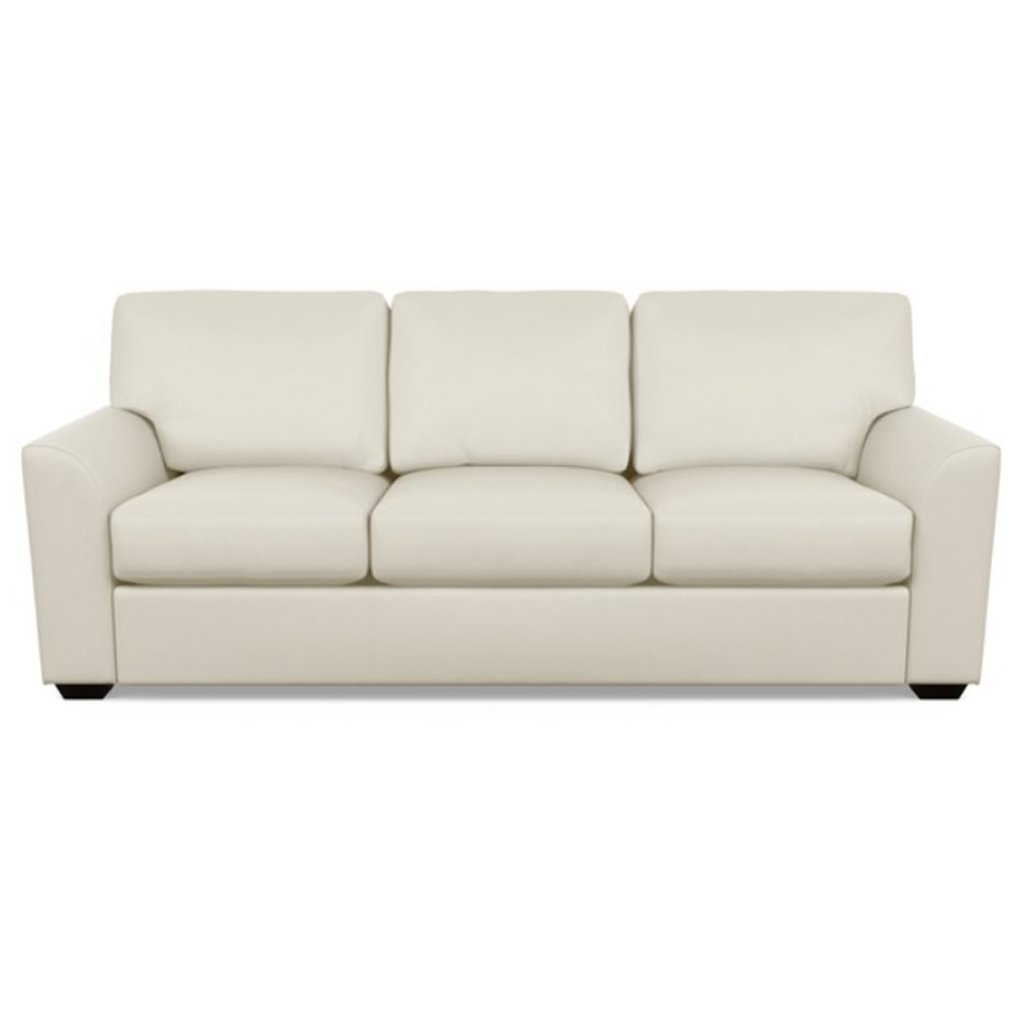 Kaden Leather Three Seat Sofa by American Leather Capri Sand Dollar