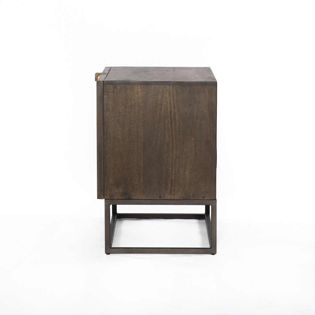 Kelby Cabinet Nightstand Four Hands Side View