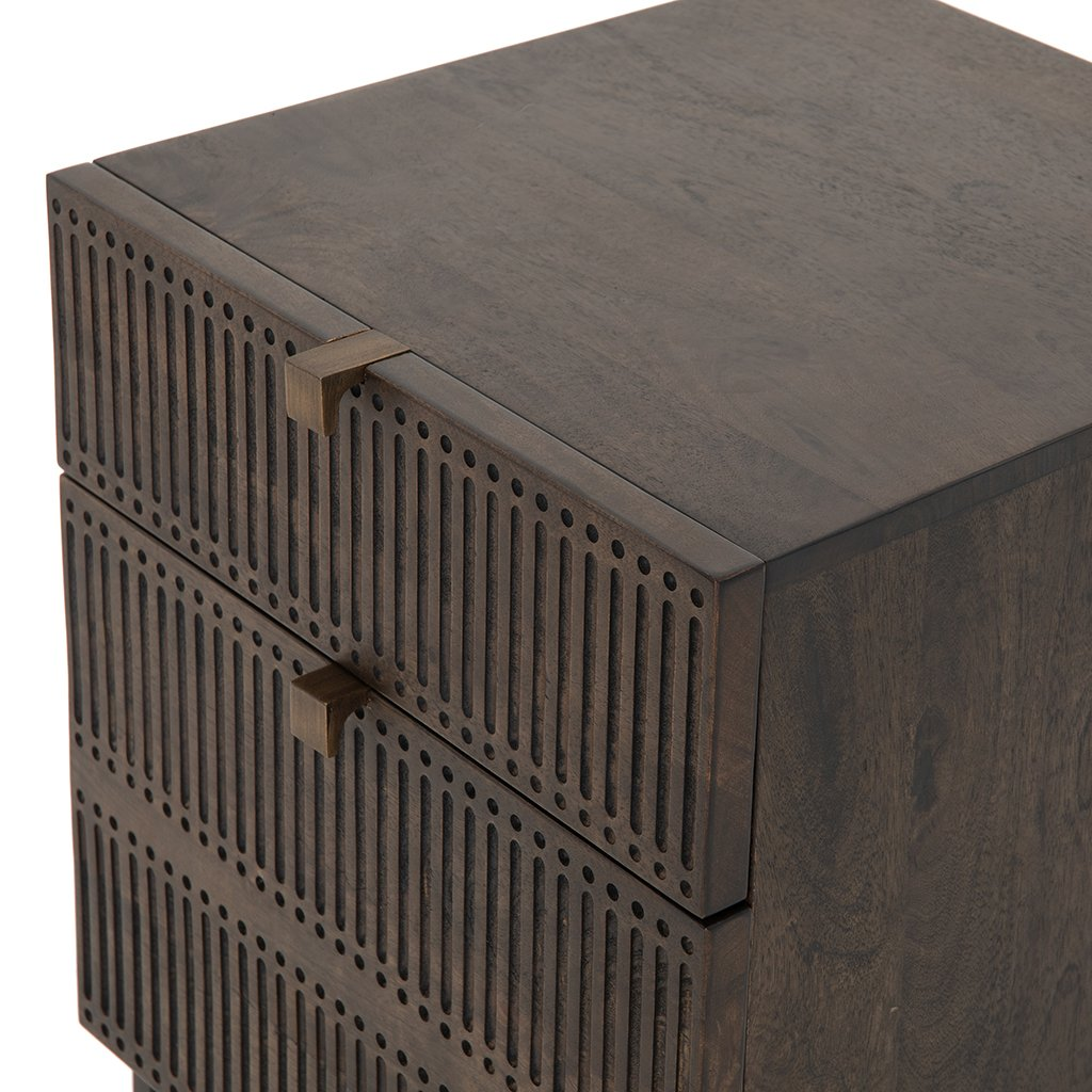 Kelby Filing Cabinet Four Hands IFAL-038 Top Detail