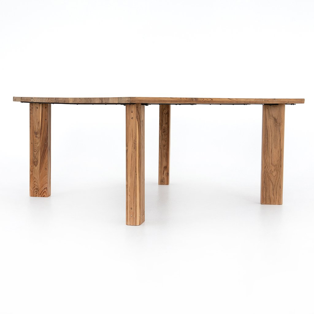 Kimball Reclaimed Teak Square Dining Table Four Hands IMER-035