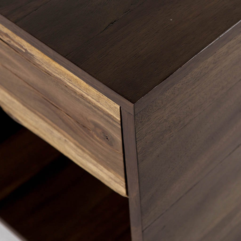 Kingston Nightstand UWES-107 Four Hands Corner detail