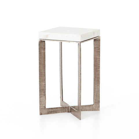 Trico Copper Top Side Table - Natural w/ Spots