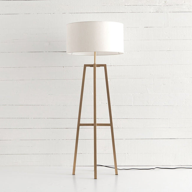 Lewis Floor Lamp - Brass