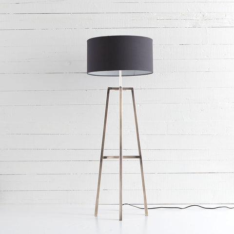 Lewis Floor Lamp - Nickel