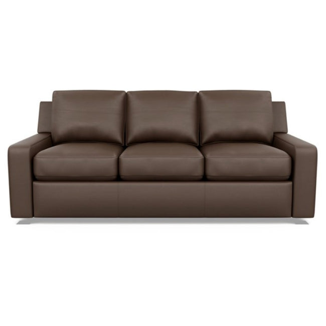 American Leather Lisben Leather Sofa in Bali Brandy
