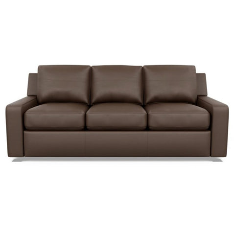 Jack Leather Rocker - Chestnut Brown