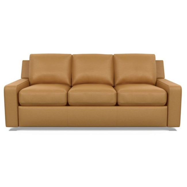 American Leather Lisben Leather Sofa in Bali Butterscotch