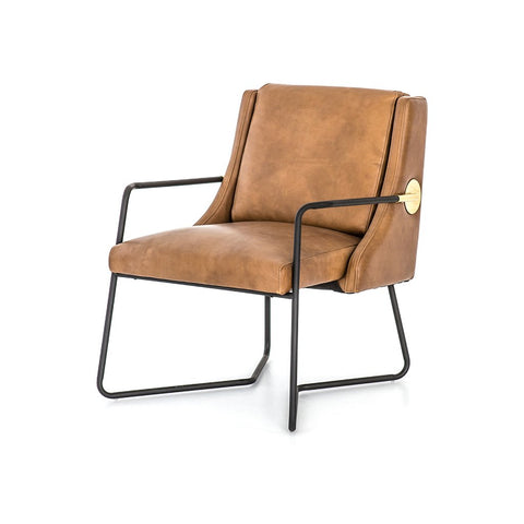 Chazzie Club Chair - Gray