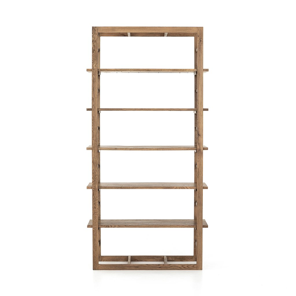 Mack Wooden Bookshelf Four Hands IFAL-018