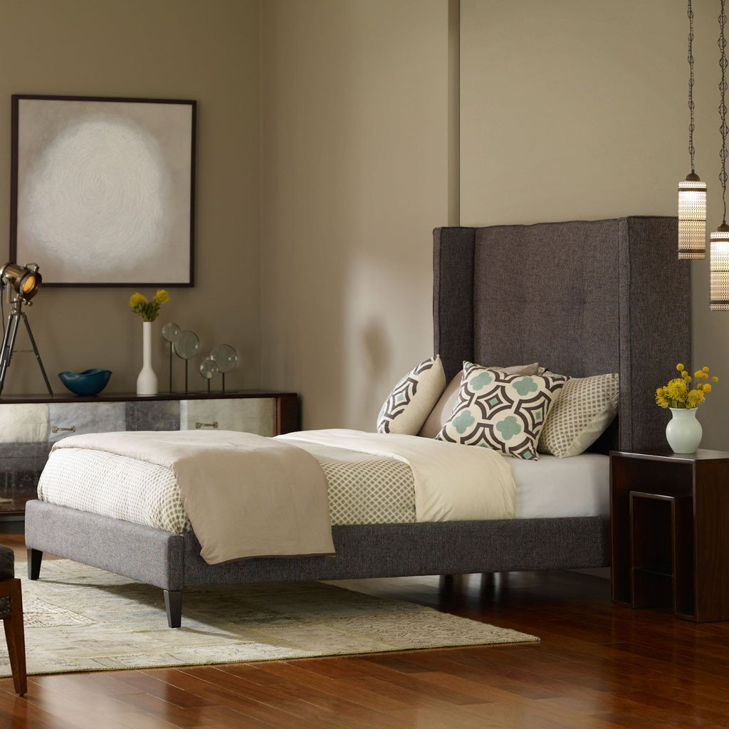 Madison upholstered bed
