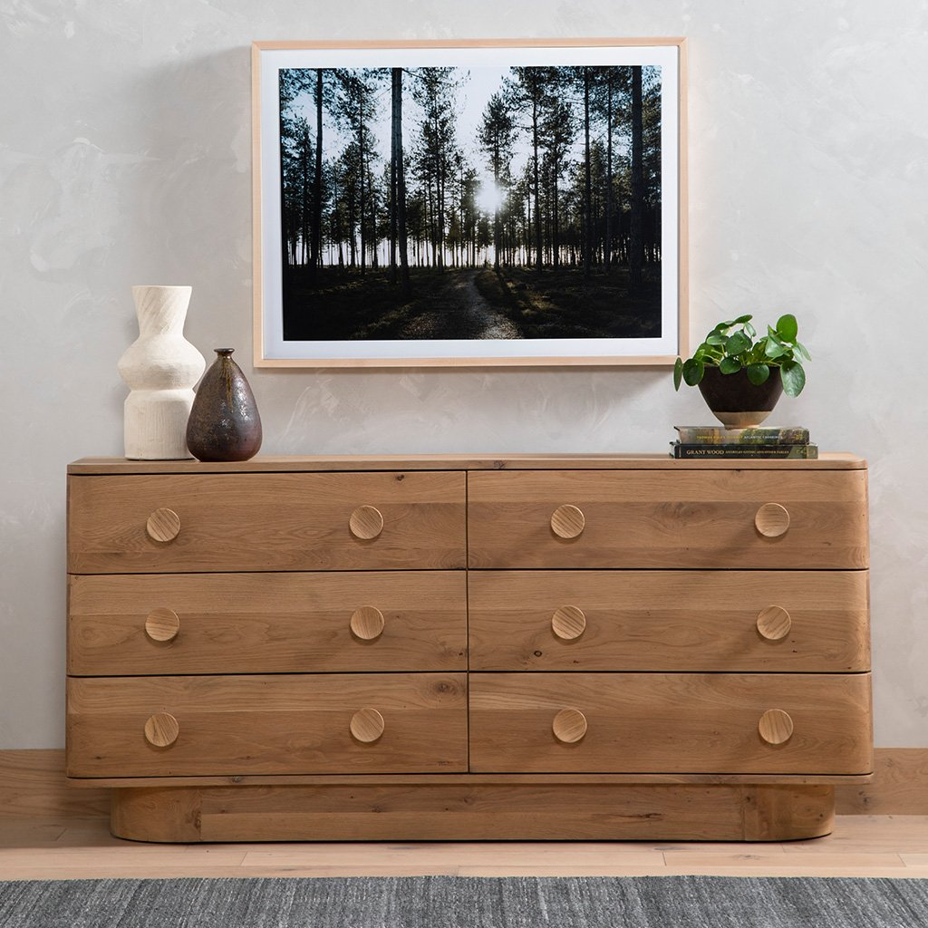 Four Hands Mallory 6 Drawer Dresser - Light Oak