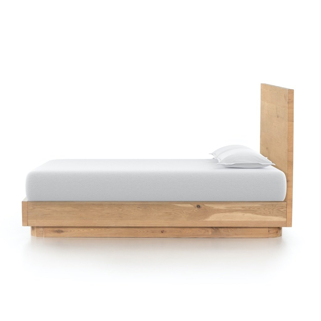 Mallory Bed - King Side view mattress