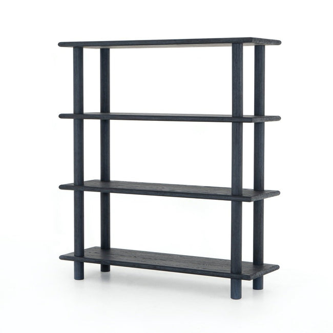 Mattia Bookshelf - Washed Indigo