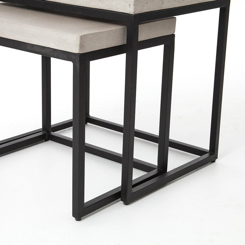 Four Hands Furniture Maximus Nesting Side Tables VCNS-F001B