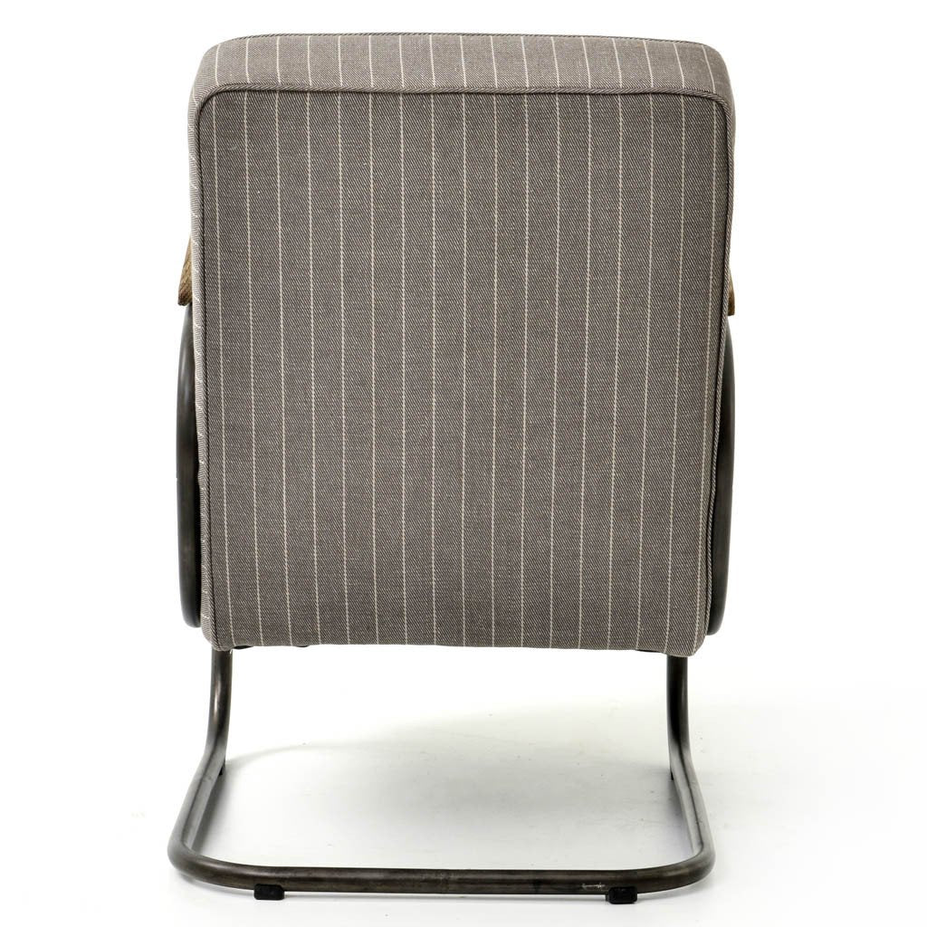 Miles Arm Chair - Grey Twill CIRD-48E1C5-E7