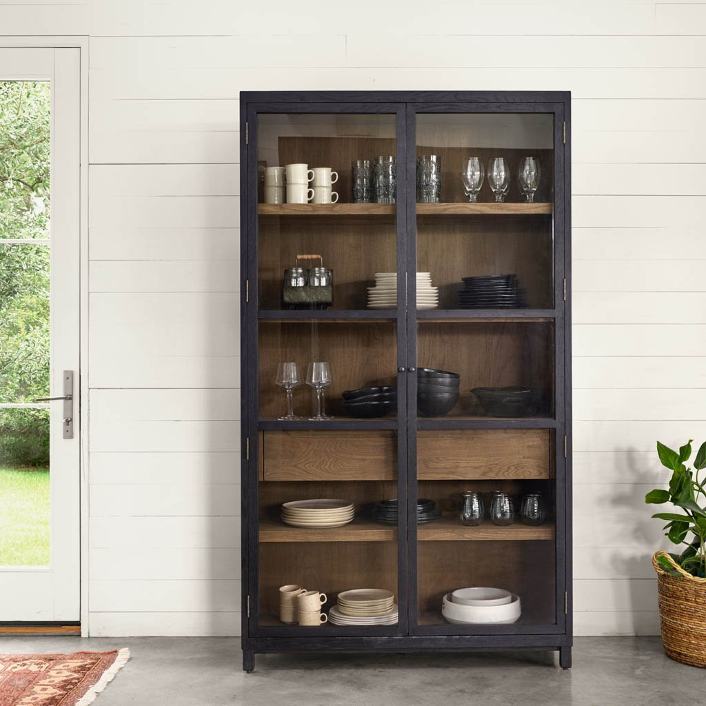 Millie Glass door cabinet