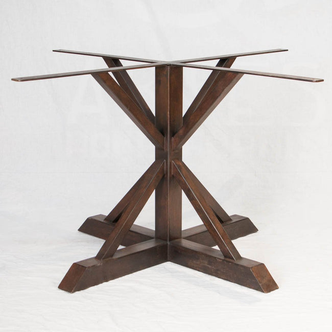Miners Iron Dining Table Base