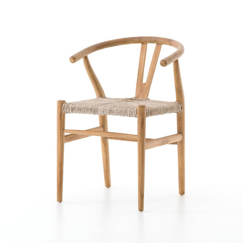 Muestra Dining Chair - Weathered Grey Teak
