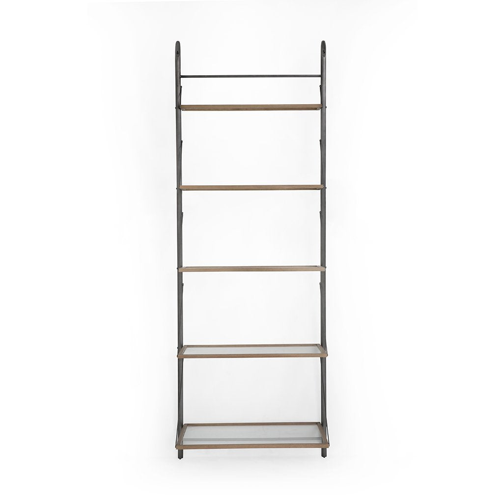 Murray Leaning Bookshelf Four Hands CIMP-295 Front View
