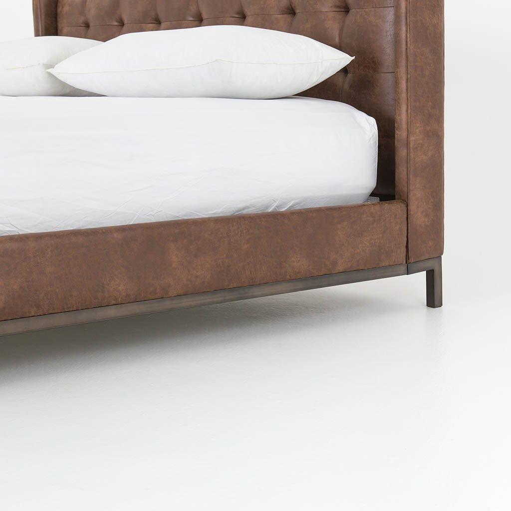 Newhall Bed - Vintage Tobacco