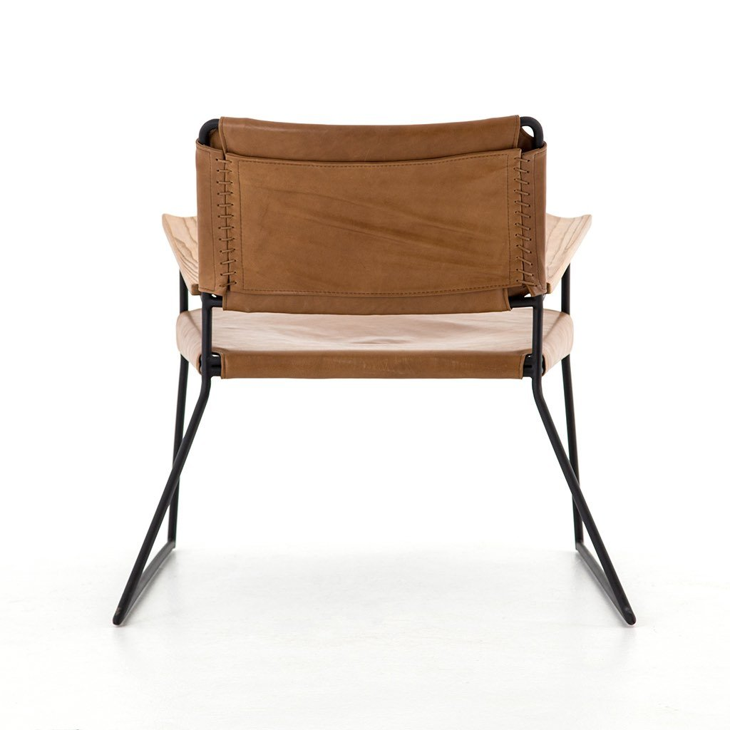 Newton Leather Chair Four Hands Furniture