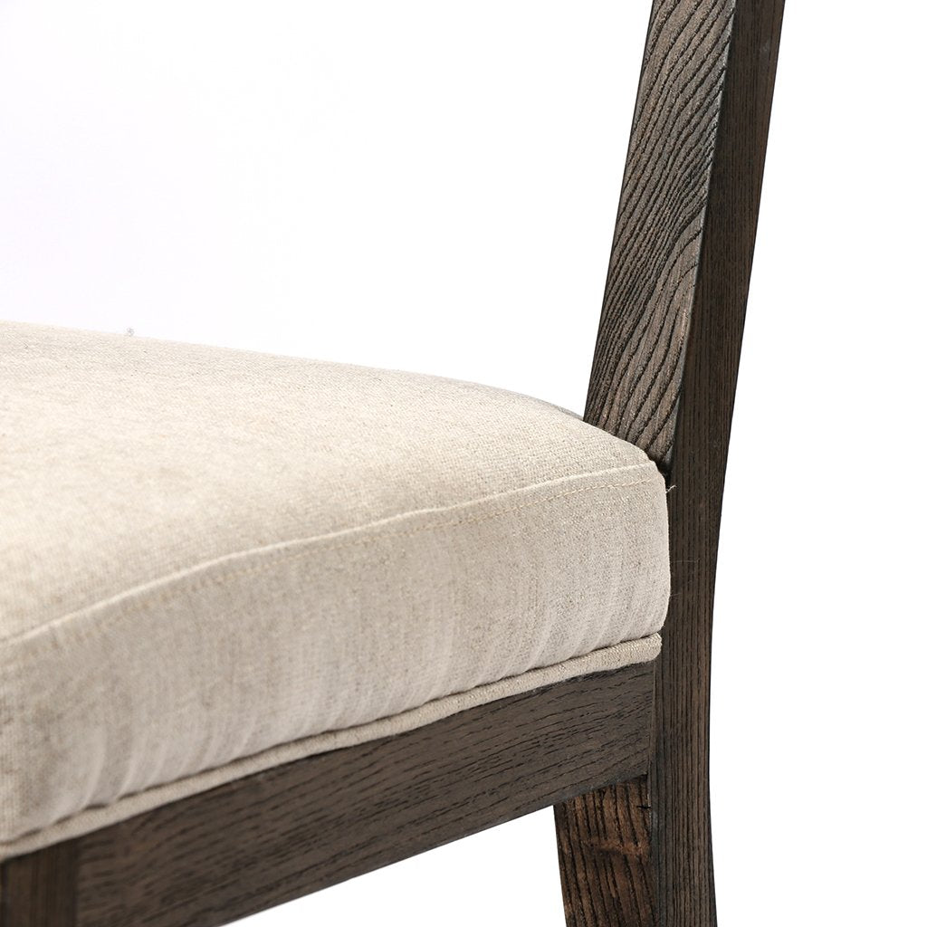Chair Detail Norton Modern Dining Chair - Fulci Stone