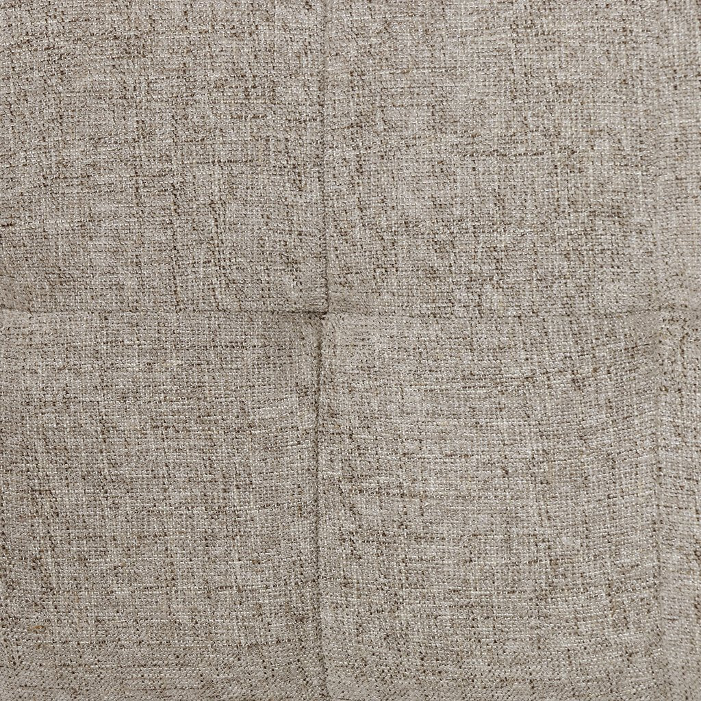 Fabric Detail Norton Modern Dining Chair - Fulci Stone