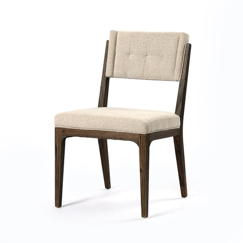 Jared Dining Chair - Acorn & Heavy Linen