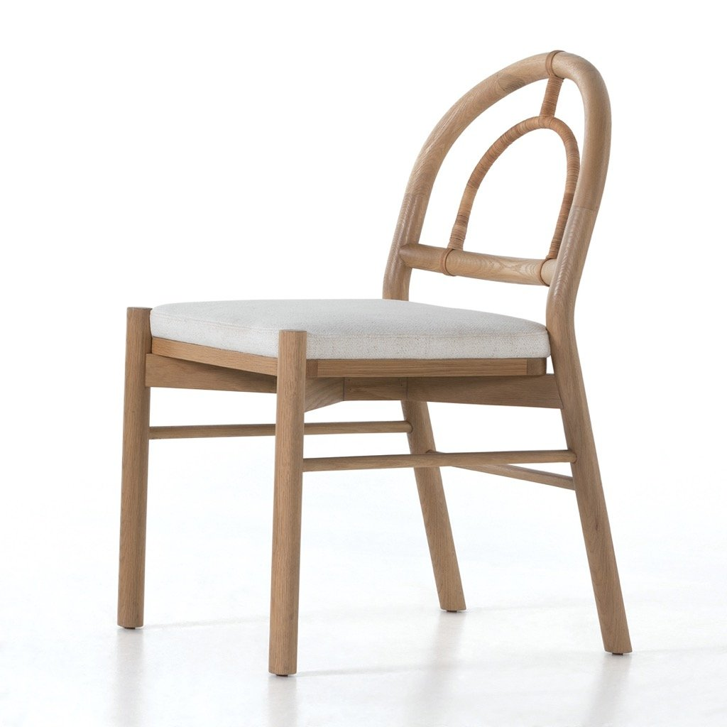 Pace Dining Chair - Burnished Oak Angle View