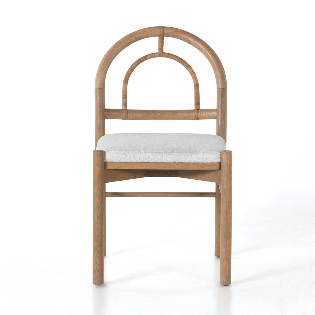 Pace Dining Chair - Burnished Oak Front View