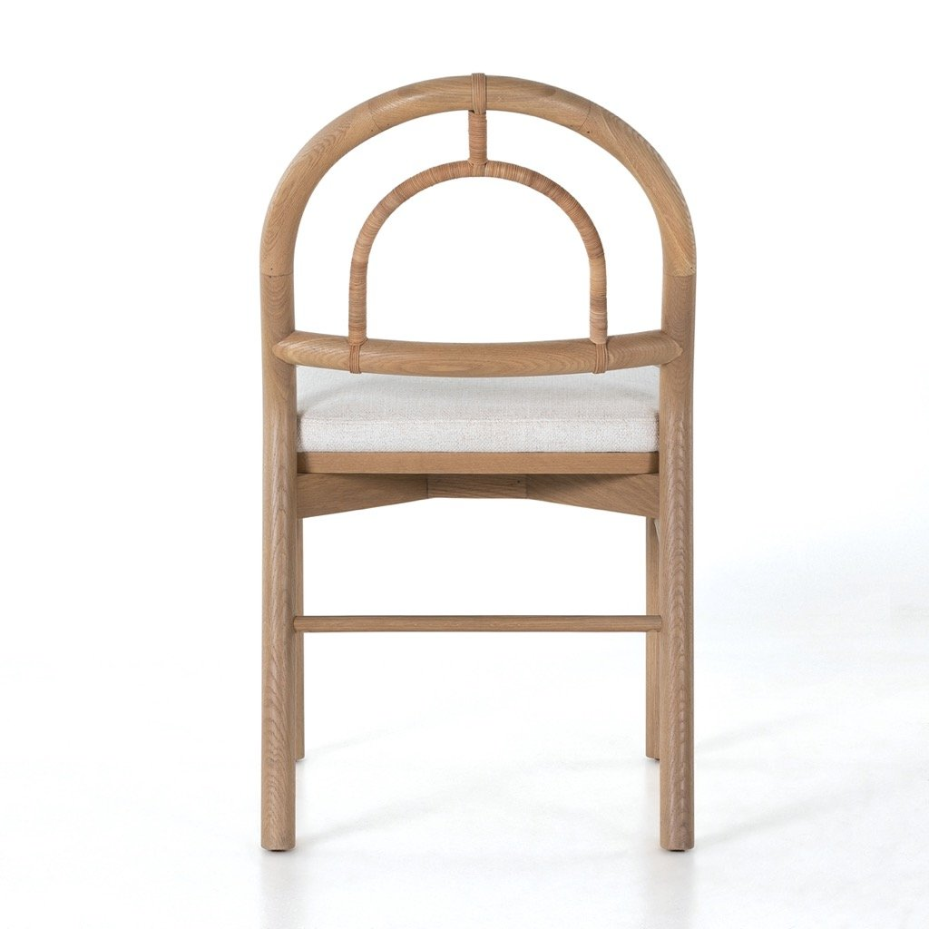 Pace Dining Chair - Burnished Oak Back View