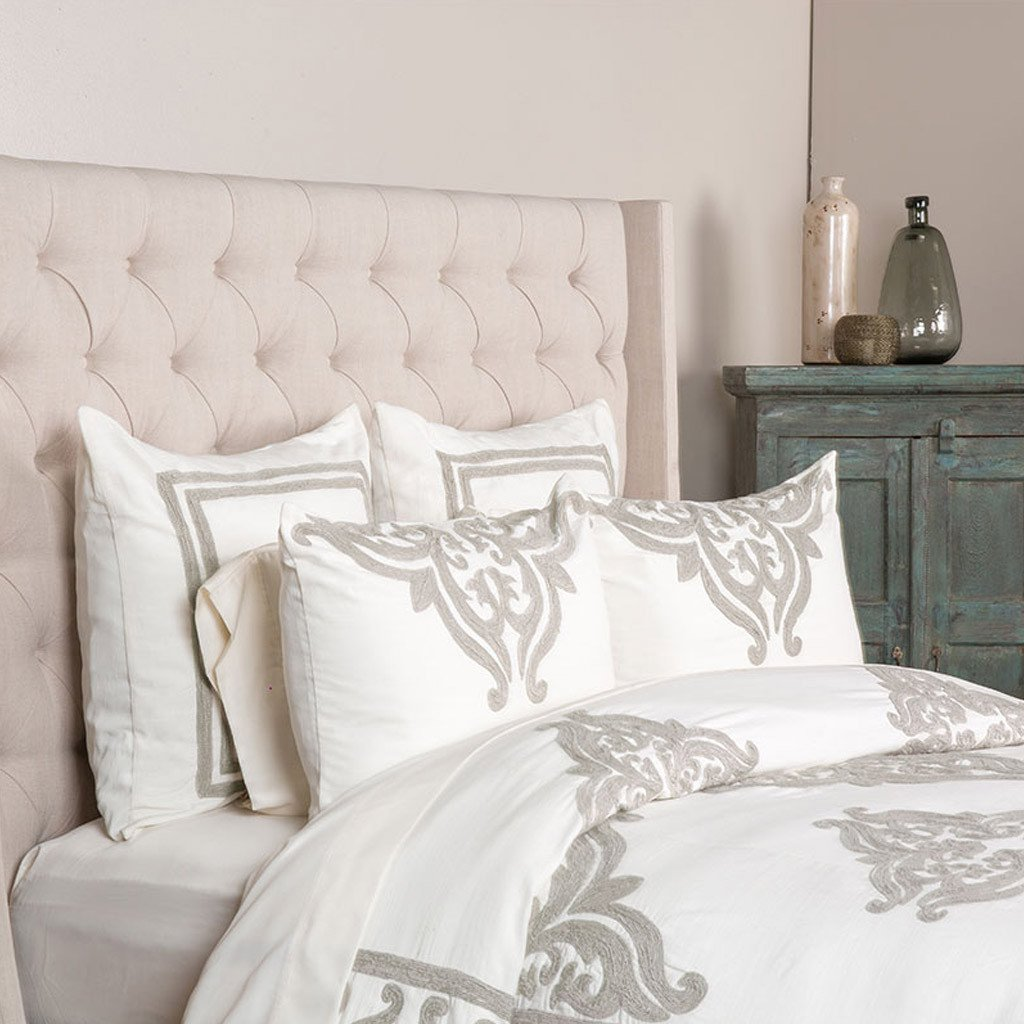 Patrina Duvet Collection - Ivory