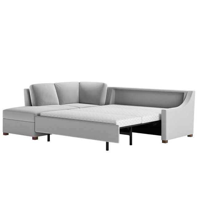 Perry Comfort Sleeper Sectional Sofa by American Leather