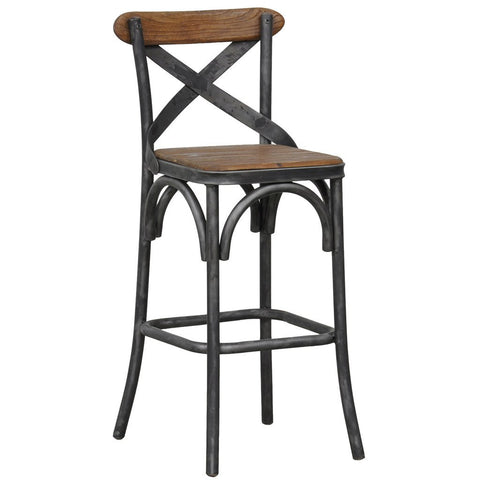 Riviera Bar & Counter Stool - Antique Ebony