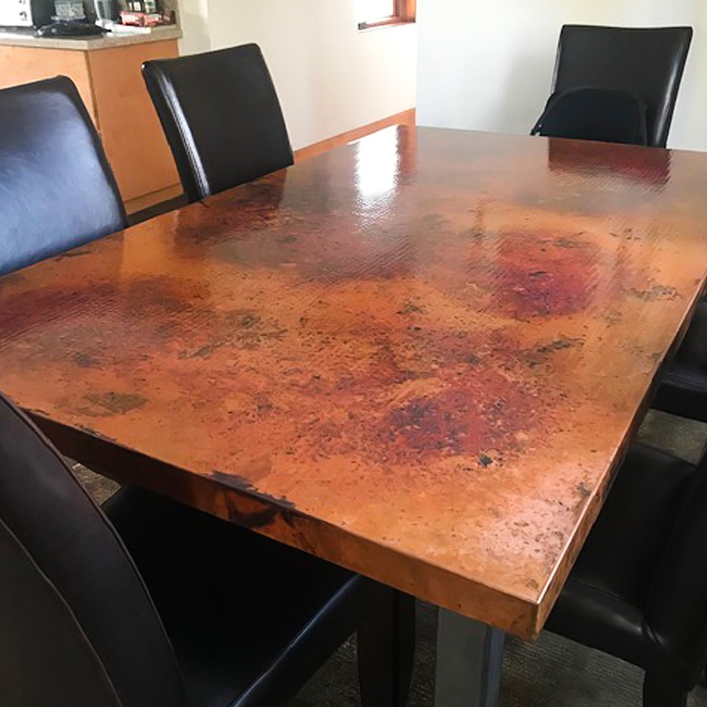 Copper Dining Table Rectangle