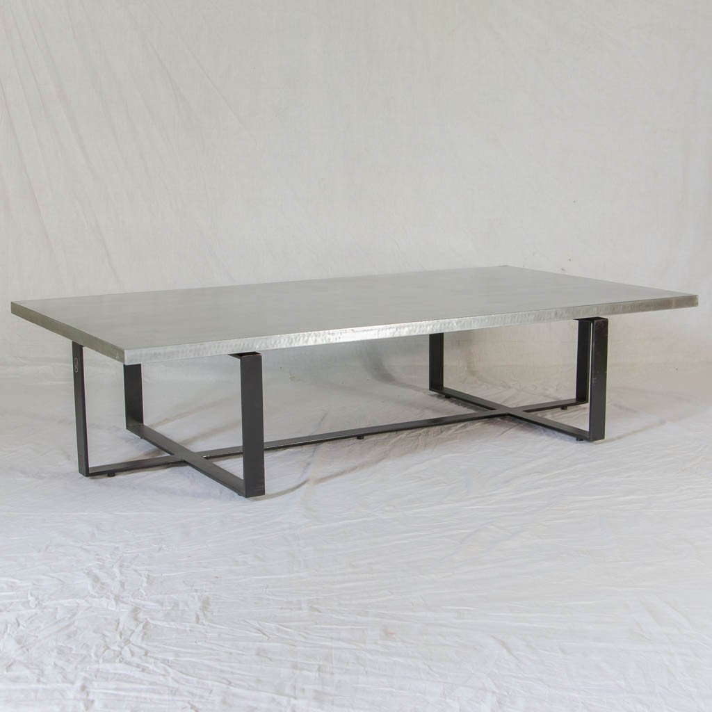 Silex zinc top Coffee Table