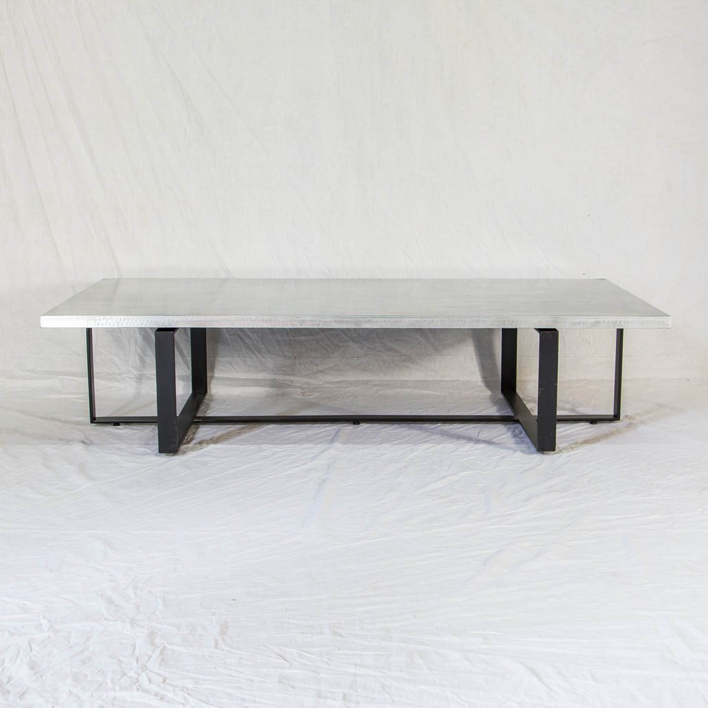 zinc coffee table artesanos design collection