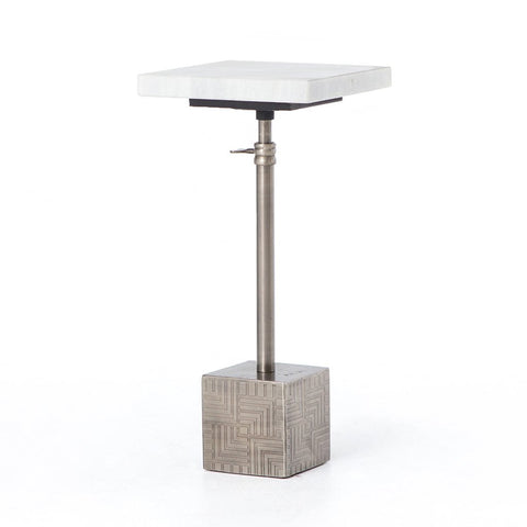 Shagreen Nesting Table - Antique Brass
