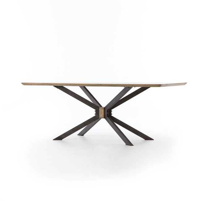 Spider Dining Table - Brass Clad