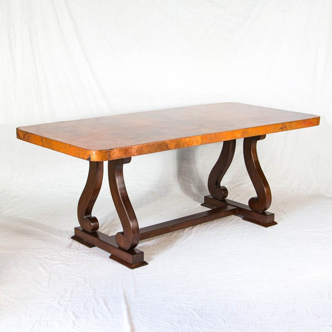 Sultan Copper Top Dining Table