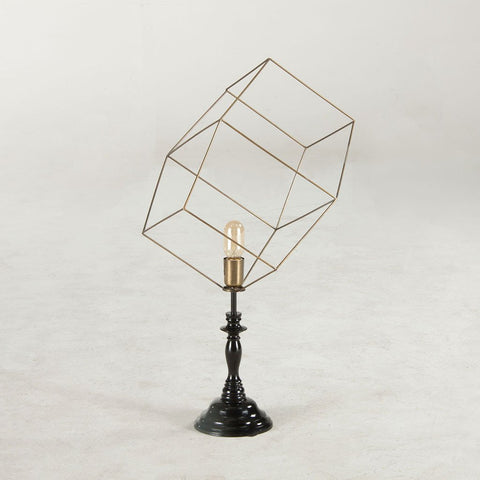 Rowan Table Lamp - Antique Brass