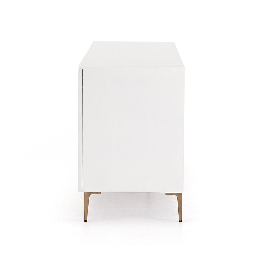 Trefoil Sideboard - Ivory JTRB-011 Side View