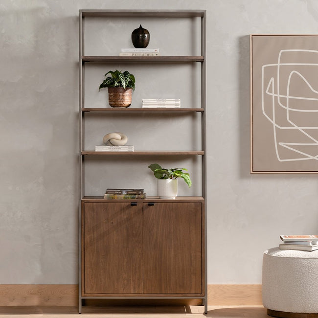 Four Hands Trey Modular Wide Bookcase