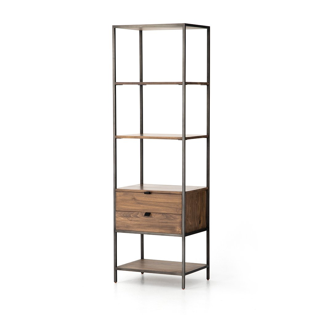 Trey Narrow Bookshelf Four Hands Furniture UFUL-032