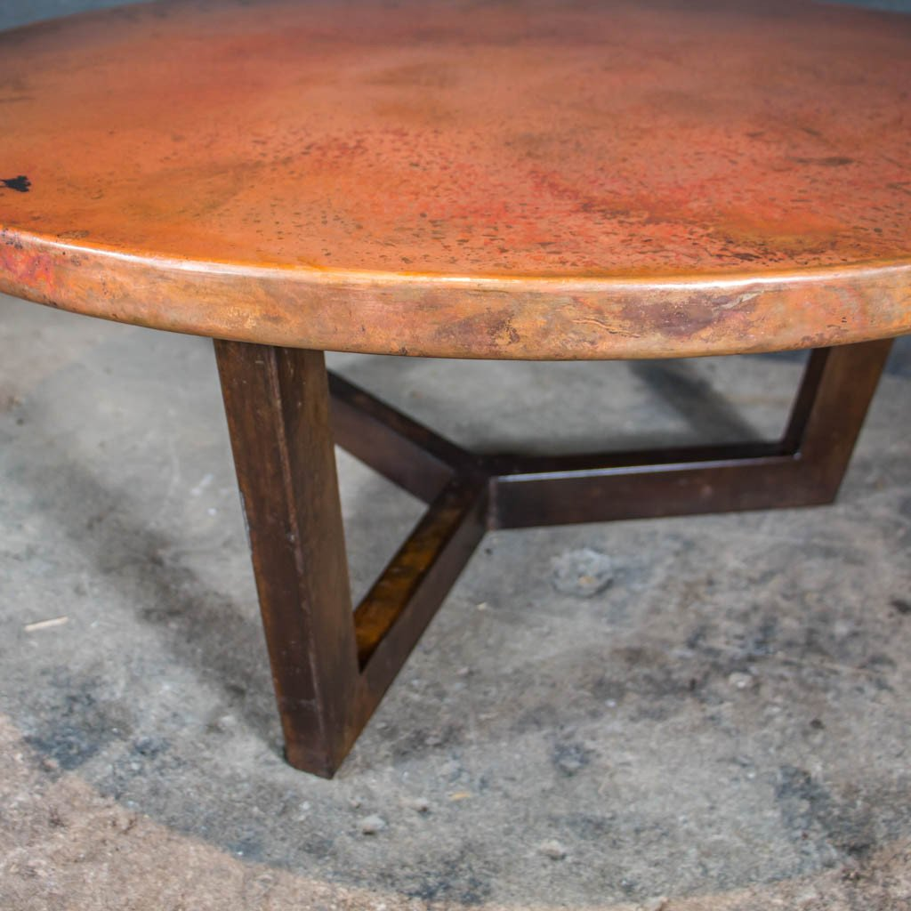 rustic Copper Coffee Table