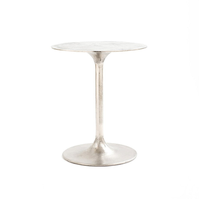 Four Hands Tulip Side Table - Raw Nickel IMAR-27-RNK