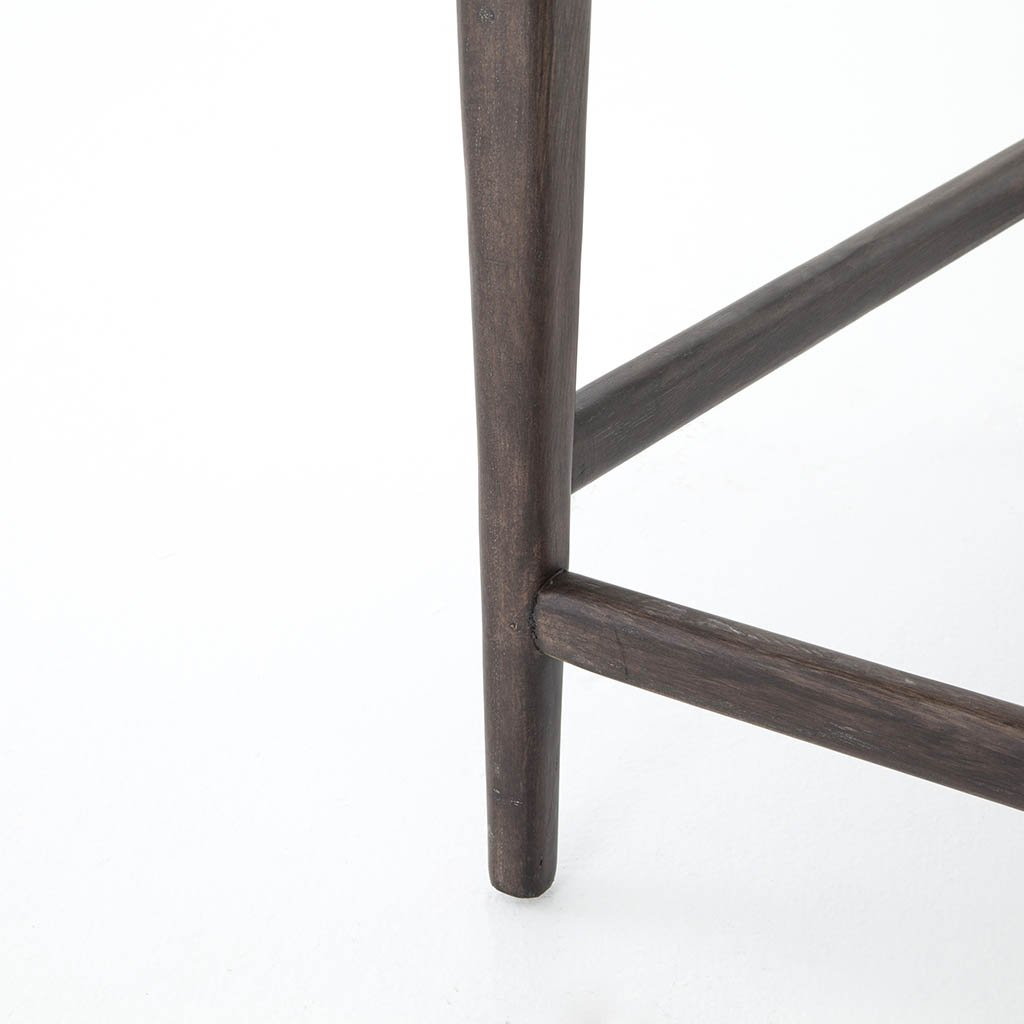 Tyler Stool Four Hands Furniture Chaps Ebony