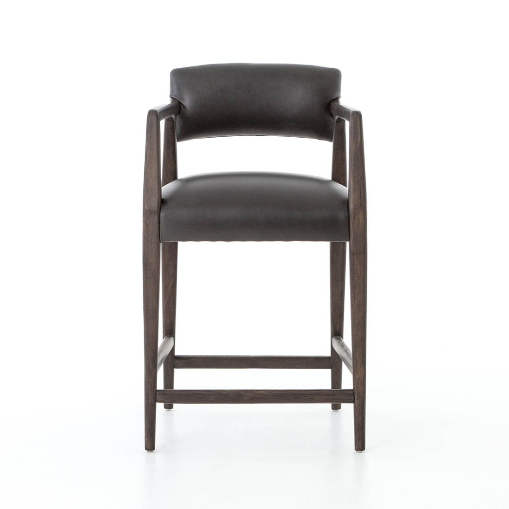 low back counter chair
