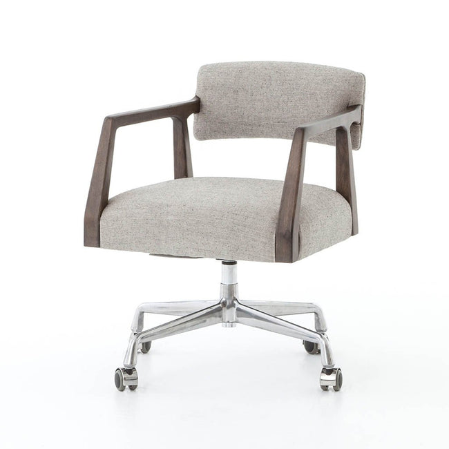 Four Hands Tyler Desk Chair - Ives White Grey CABT-76A